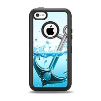 The Anchor Splashing Apple iPhone 5c Otterbox Defender Case Skin Set