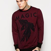 Diesel Sweatshirt S-Ram Magic Burnout