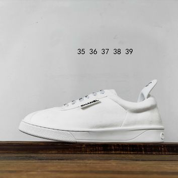 Kuyou Fa1973 Chan 2019 White Sneakers Low-top Shoes For Men And Women