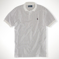 Classic-Fit Tattersall Polo
