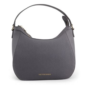 Trussardi Grey Shoulder Bag