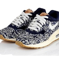 France Pas Cher Nike Air Max 1 ND Liberty Femme Liberty of London imperial Pourpre Sail Blanche Paris Stockist