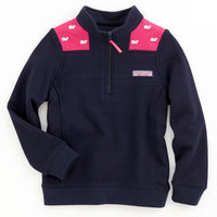 Girls Pullovers: Whale Embroidered Shep Shirt for Girls – Vineyard Vines