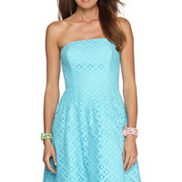 Caitlin Strapless Dress - Lilly Pulitzer
