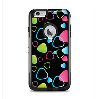 The Abstract Bright Colored Picks Apple iPhone 6 Plus Otterbox Commuter Case Skin Set
