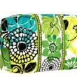 Vera Bradley Large Cosmetic in Lime's Up