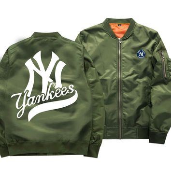 [50% OFF !!] EXCLUSIVE NEW YORK YANKEES UNIQUE BOMBER JACKET - FREE SHIPPING