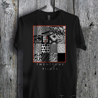 Twenty One Pilots Unique Album Art - zzz Tees Unisex Tees For Man And Woman / T-Shirts / Custom T-Shirts / Tee / T-Shirt