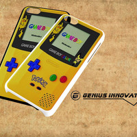 Pokemon Yellow Gameboy Nintendo Samsung Galaxy S3 S4 S5 Note 3 , iPhone 4(S) 5(S) 5c 6 Plus , iPod 4 5 case