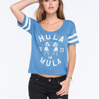 Billabong Hula Time Womens Tee Blue  In Sizes