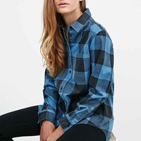 Cheap Monday Chess Plaid Shirt in Blue - Urban Outfitters