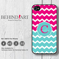 Personalized Covers, Custom, Chevron, Phone Cases, iPhone 5 case, iPhone 5C Case, iPhone 5S case, iPhone 4 Case, iPhone 4S Case-D0072