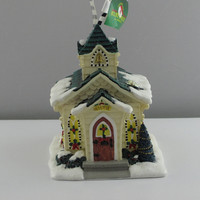 Mary Engelbreit Believe Church Ornament-ME0347-B