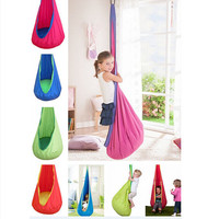 1 Pc Baby Inflatable Hammock Kids Hanging Chair Indoor/Outdoor Child Swing Chair with Inflatable Cushion H1339