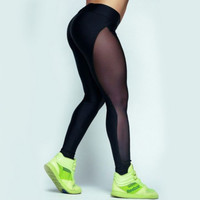 Hot cute net fashion pants show body leggings