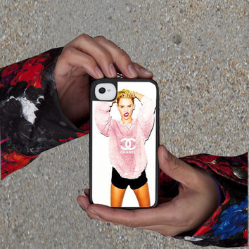 miley cyrus chanel , iPhone 4, iPhone 5, iPhone 5S, iPhone 5C.