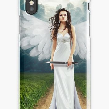 'Angel' iPhone Case/Skin by KandM