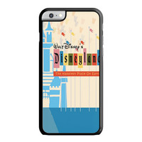 The Happiest Place On Earth Disneyland Ticket iPhone 6 Case