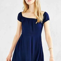 Kimchi Blue Cap-Sleeve Mini Dress