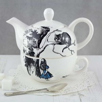 Wonderland Teapot And Cup For One : TruffleShuffle.com