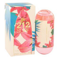 212 Surf Perfume By CAROLINA HERRERA FOR WOMEN Eau De Toilette Spray (Limited Edition 2014) 2 oz