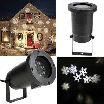 Outdoor/ Indoor LED Projection Light For Christmas Festival Garden Decoration