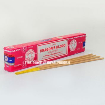 Satya Dragon's Blood Incense Sticks 15 Gram on RoyalFurnish.com