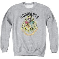 Harry Potter - Hogwarts Crest Adult Crewneck Sweatshirt Officially Licensed Apparel
