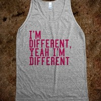 I'm different - The Best Shirts