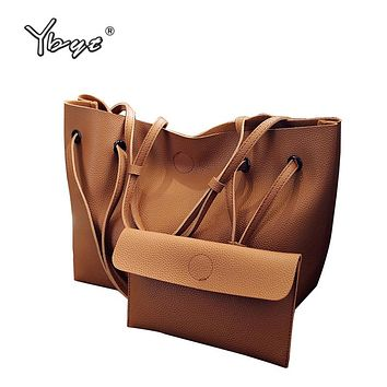 Beautiful Totes Handbags with Lady Pack bag Inside, Simple Large Capacity Shoulder Bags. OVER 40% OFF. BUY IT NOW