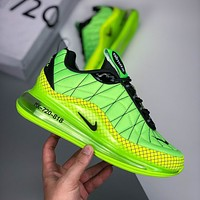 Nike Air Max 720 New 2020 Leather Weave Panel Air Cushion Casual Sneakers