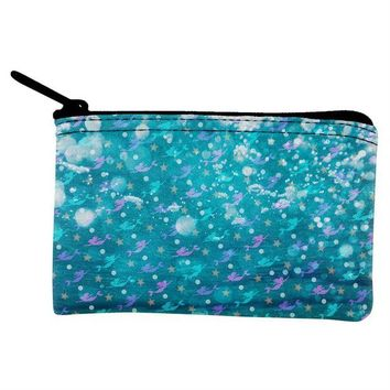 DCCKJY1 Mermaids Pearls and Starfish Pattern Coin Purse