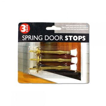 3 Pack Spring Door Stop Set MO051