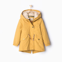 REMOVABLE CAMOUFLAGE INTERIOR PARKA