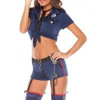 NAVY BLUE POLICEWOMAN COSTUME @ Amiclubwear costume Online Store,sexy costume,women's costume,christmas costumes,adult christmas costumes,santa claus costumes,fancy dress costumes,halloween costumes,halloween costume ideas,pirate costume,dance costume,co