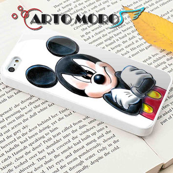 Design Mickey Mouse - iPhone 4/4S Case, iPhone 5/5S Case, iPhone 5C Case and Samsung Galaxy S3 i9300 Case, S4 i9500 Case.