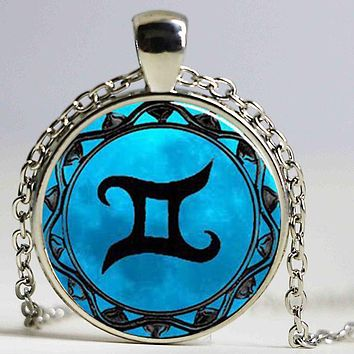 Blue Moon Libra Necklace