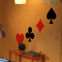 Vinyl Wall Decal Sticker Deck of Cards #247