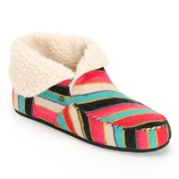 Volcom Good Spirits Multi Stripe Slippers