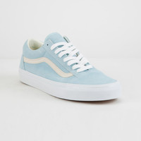 VANS Pastel Suede Old Skool Crystal Blue Womens Shoes 2fab20562114