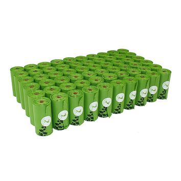 Dog Poop Bags Earth-Friendly ,1080 Counts, 60 Rolls