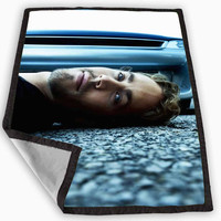 Paul Walker Blanket for Kids Blanket, Fleece Blanket Cute and Awesome Blanket for your bedding, Blanket fleece *