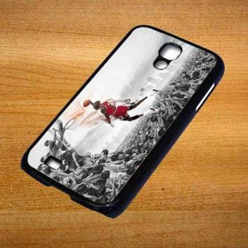 DCKL9 MICHAEL JORDAN new slam dunk Design For Samsung Galaxy S4 Case *76*