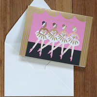 Rifle Paper Company Card - Ballerina Birthday