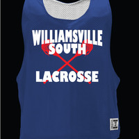 Williamsville South HS Mens Lacrosse Warrior Extreme Mesh Reversible
