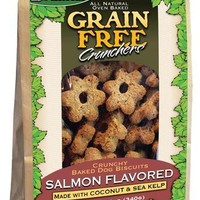 K9 Granola Salmon Crunchers & Coconut Dog Treats 12 oz