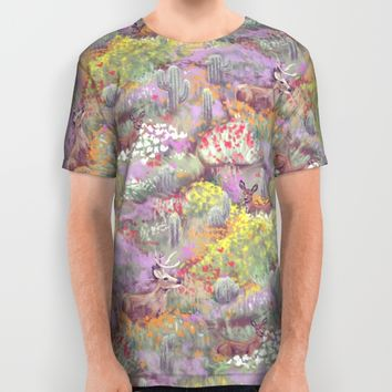 Life in Death Valley All Over Print Shirt by Ben Geiger