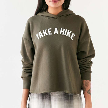 Project Social T Take A Hike Hoodie Sweatshirt - Urban Outfitters