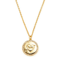 Kate Spade New York Mr. & Mrs. Pendant Necklace