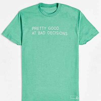 Various Keytags X UO Good At Bad Decisions Tee - Urban Outfitters